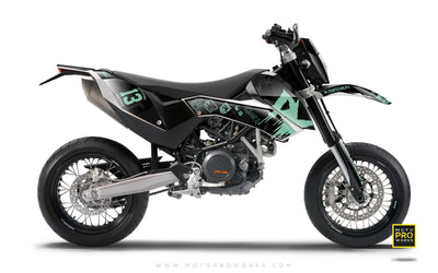 "KTM GRAPHIC KIT - ""M90"" (midnight) - MotoProWorks 