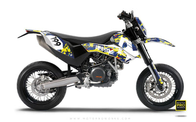 "KTM GRAPHIC KIT - ""WILDCAMO"" (jimmie) - MotoProWorks 