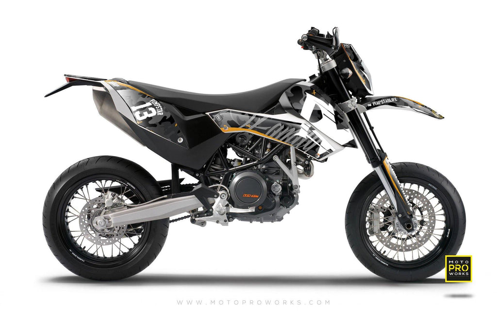 "KTM GRAPHIC KIT - ""WILDCAMO"" (dark) - MotoProWorks 