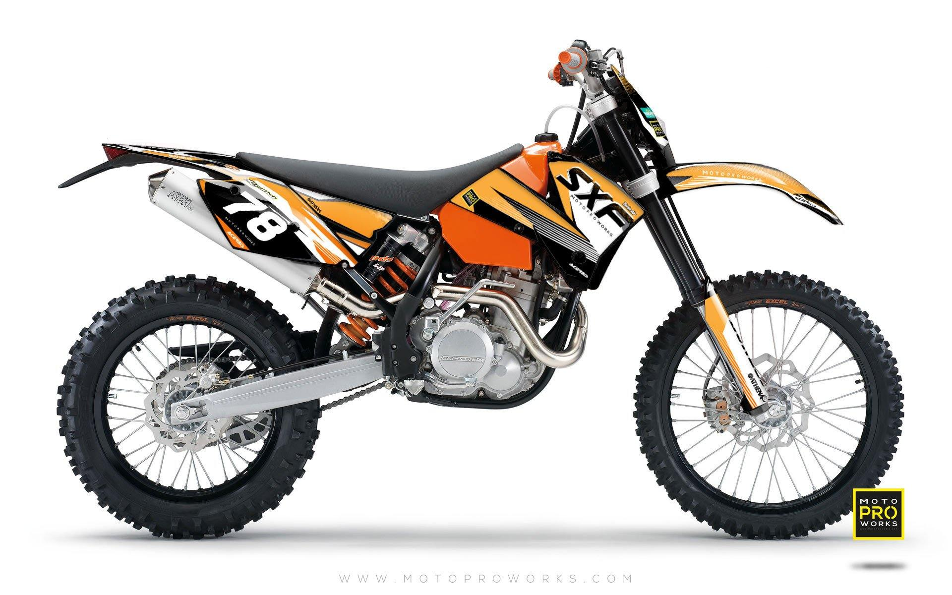 "KTM GRAPHIC KIT - ""GRADER"" - MotoProWorks 