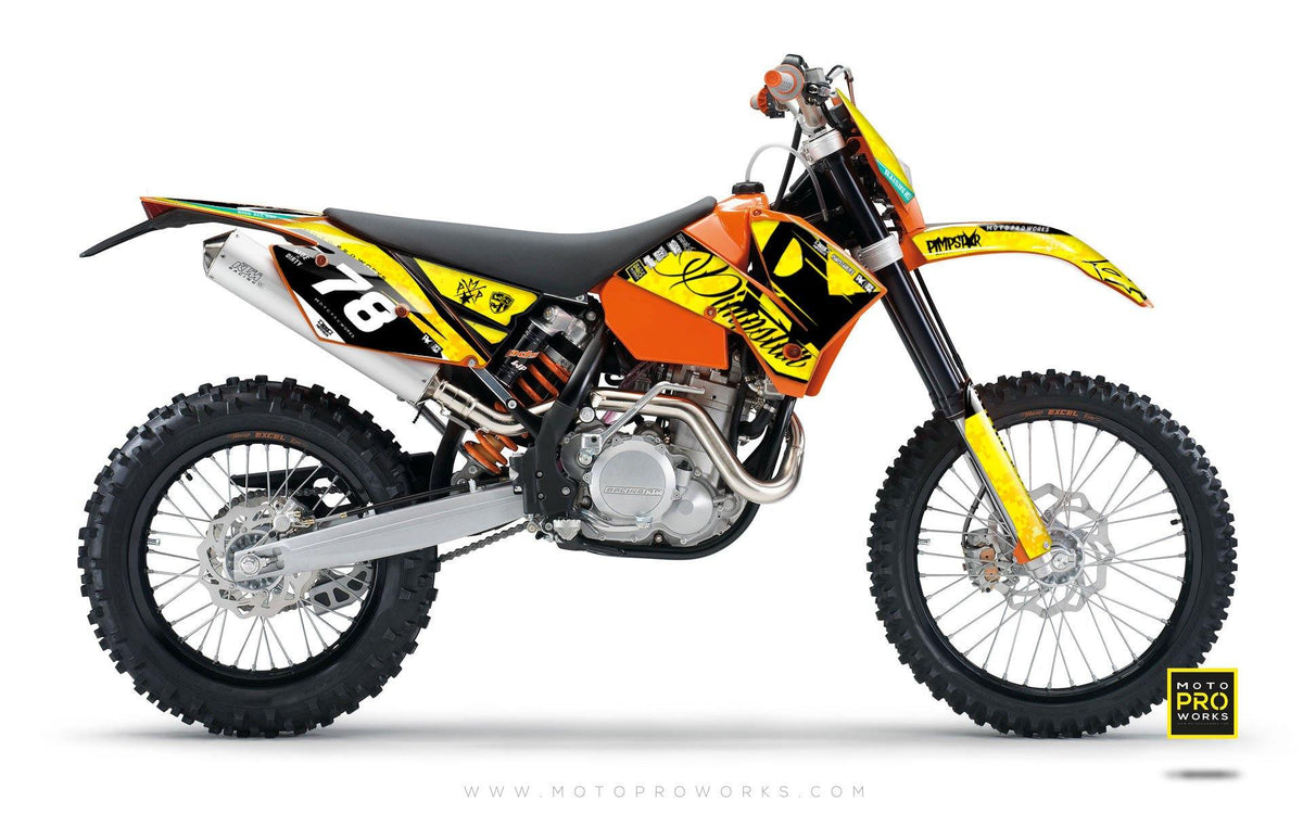 "KTM GRAPHIC KIT - ""MARPAT"" (wasp) - MotoProWorks 
