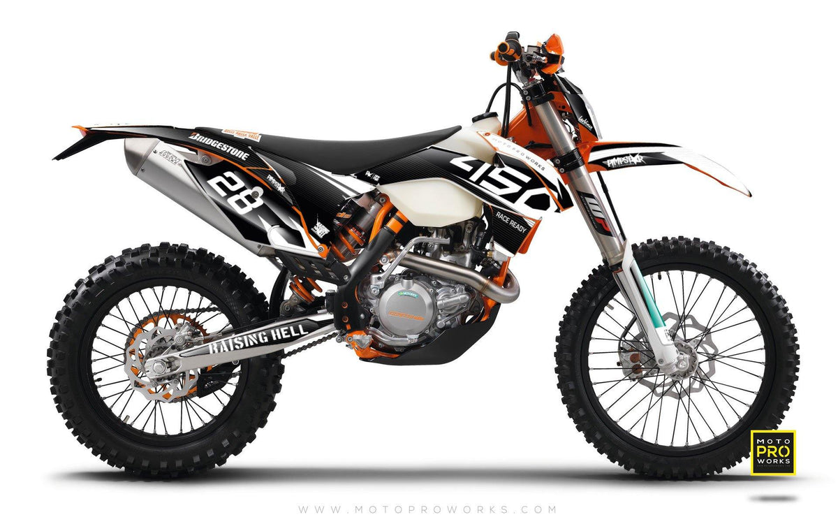 "KTM GRAPHIC KIT - ""BACMONO"" - MotoProWorks 