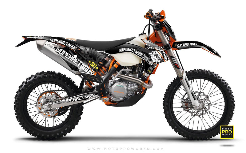 "KTM GRAPHIC KIT - ""SUPERRETARDS"" (2016) - MotoProWorks 