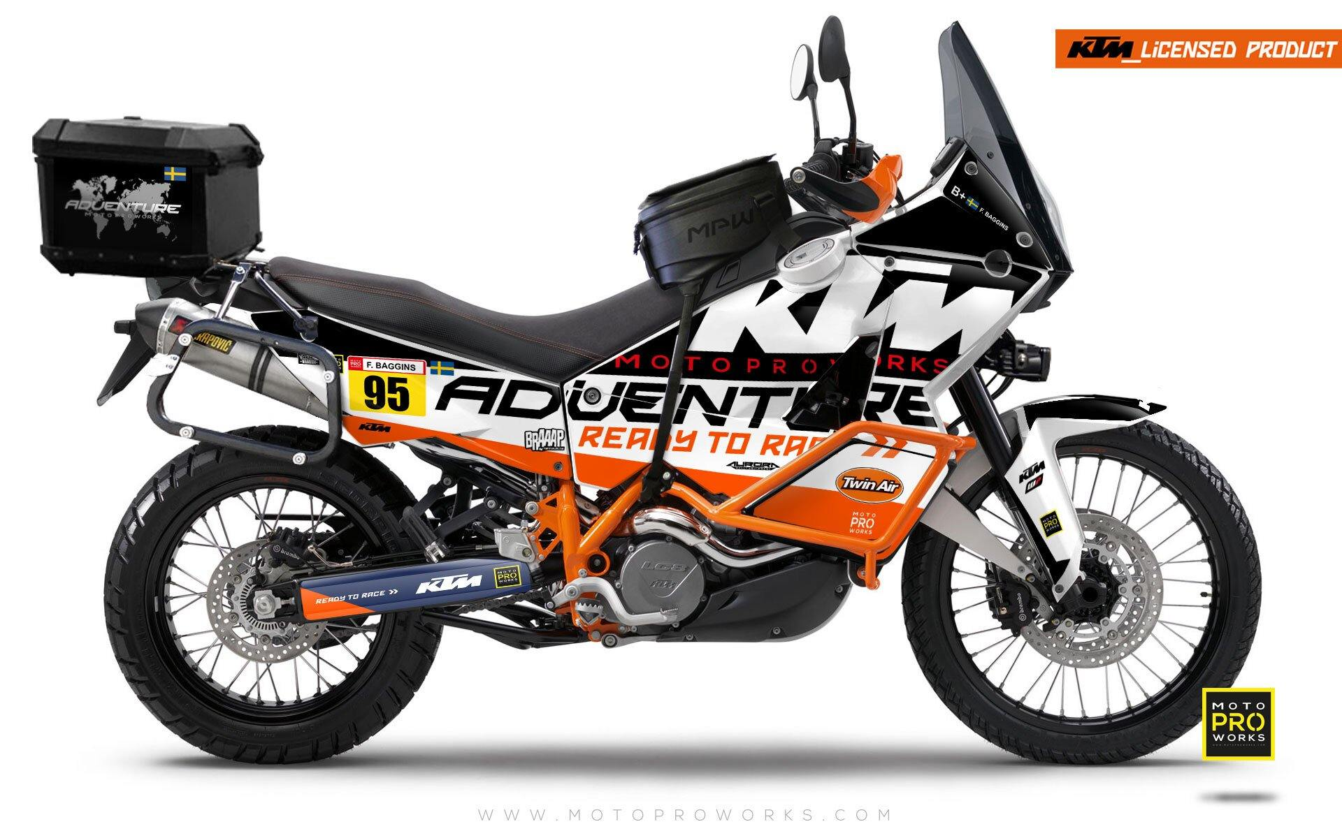 "KTM Adventure GRAPHIC KIT - ""WAYPOINTER"" (night)"