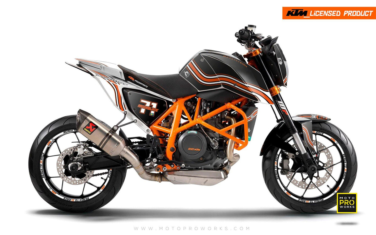"KTM 690 Duke GRAPHIC KIT - ""Circuit"""