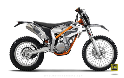 "KTM GRAPHIC KIT - ""M90"" (urban) - MotoProWorks 
