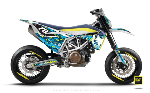 "Husqvarna 701 GRAPHIC KIT - ""MARPAT"" (special)"