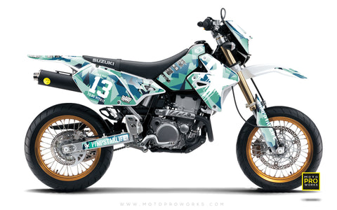 "Suzuki GRAPHIC KIT - ""M90"" (banger) - MotoProWorks 