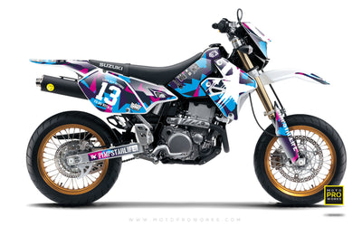 "Suzuki GRAPHIC KIT - ""M90"" (candy) - MotoProWorks 