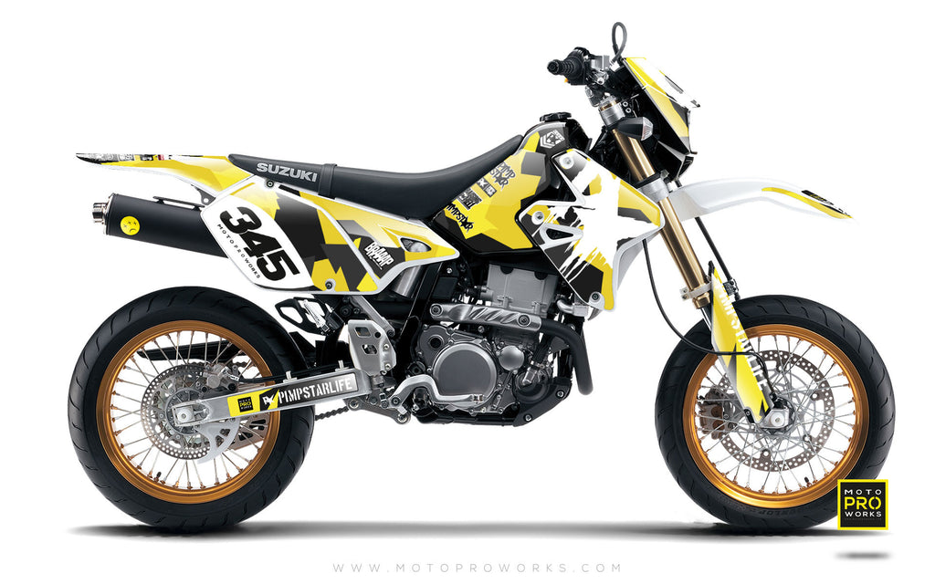 "Suzuki GRAPHIC KIT - ""M90"" (wasp) - MotoProWorks 
