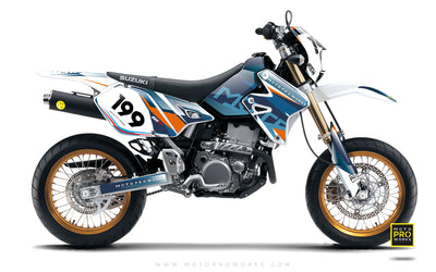"Suzuki GRAPHIC KIT - ""TECH9"" (hydro) - MotoProWorks 