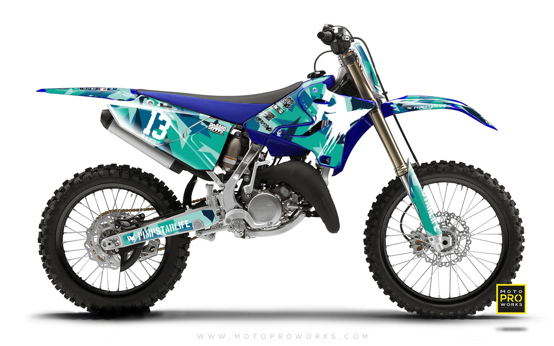 "Yamaha GRAPHIC KIT - ""-M90"" (Banger) - MotoProWorks 
