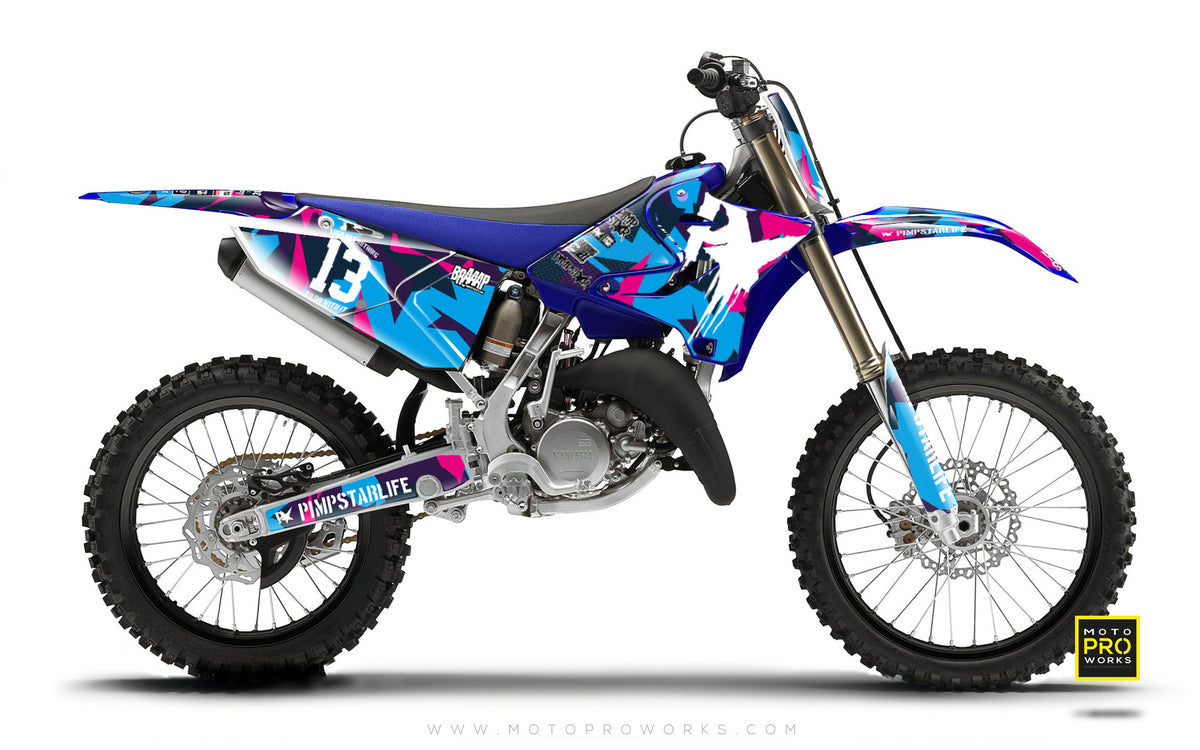 "Yamaha GRAPHIC KIT - ""M90"" (candy) - MotoProWorks 