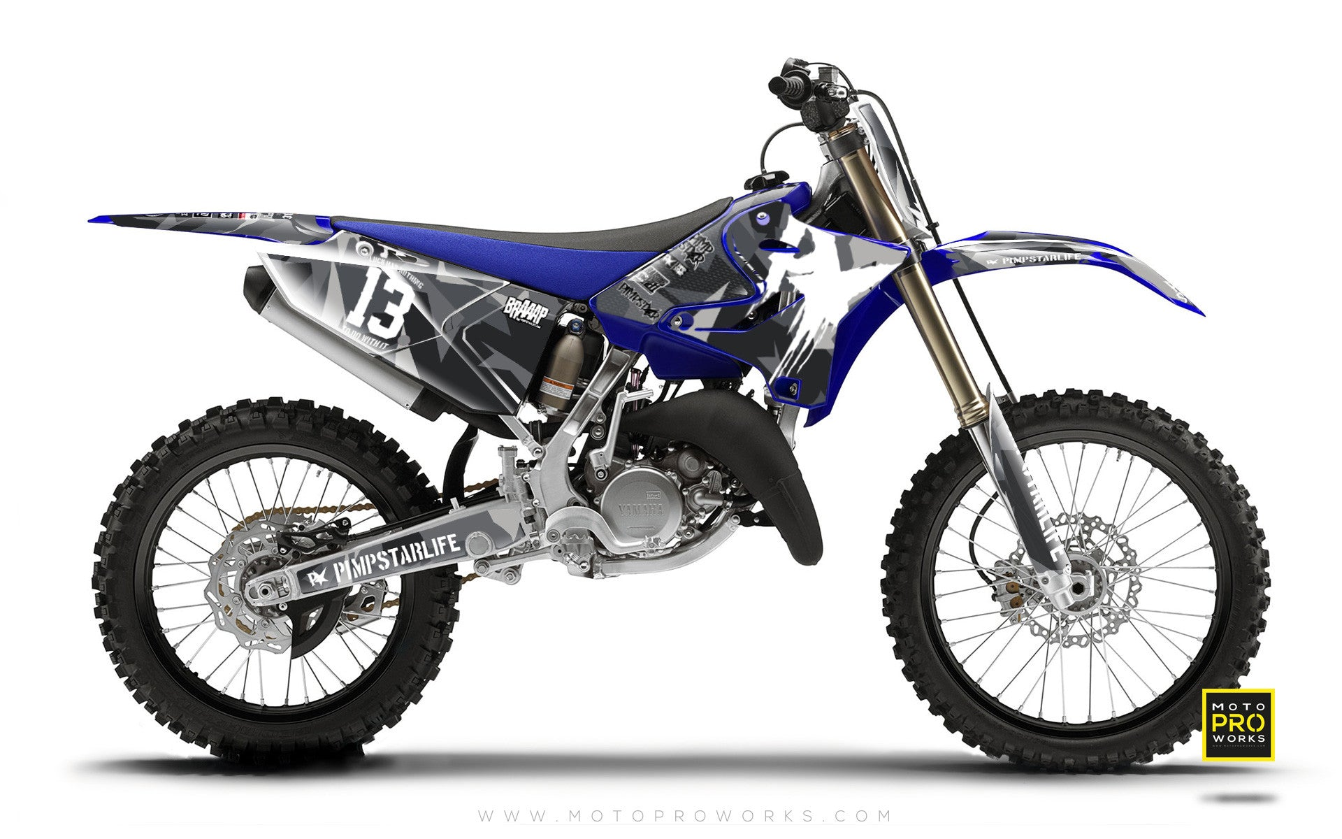 "Yamaha GRAPHIC KIT - ""M90"" (urban) - MotoProWorks 