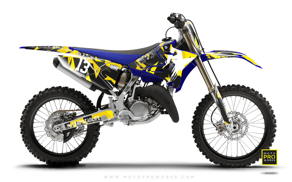 "Yamaha GRAPHIC KIT - ""M90"" (wasp) - MotoProWorks 