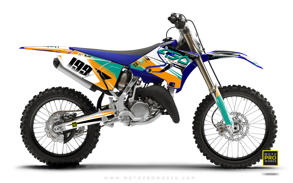 "Yamaha GRAPHIC KIT - ""GOFAST"" (minty) - MotoProWorks 