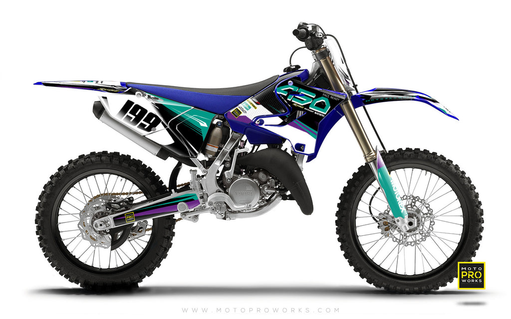 "Yamaha GRAPHIC KIT - ""GOFAST"" (salmiak) - MotoProWorks 