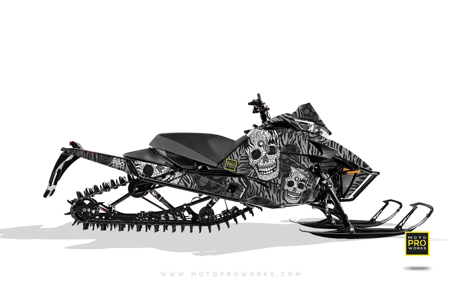 "Arctic Cat Graphics - ""Fiesta"" (grey solid) - MotoProWorks 