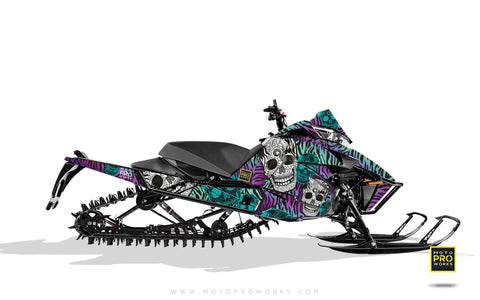 "Arctic Cat Graphics - ""Fiesta"" (purple solid) - MotoProWorks 