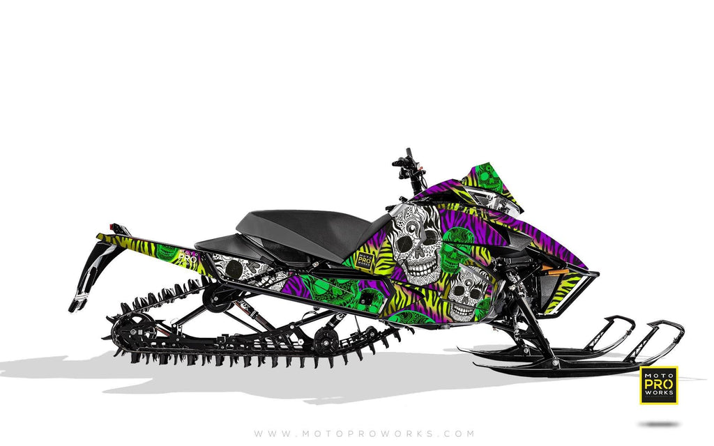 "Arctic Cat Graphics - ""Fiesta"" (zink) - MotoProWorks 