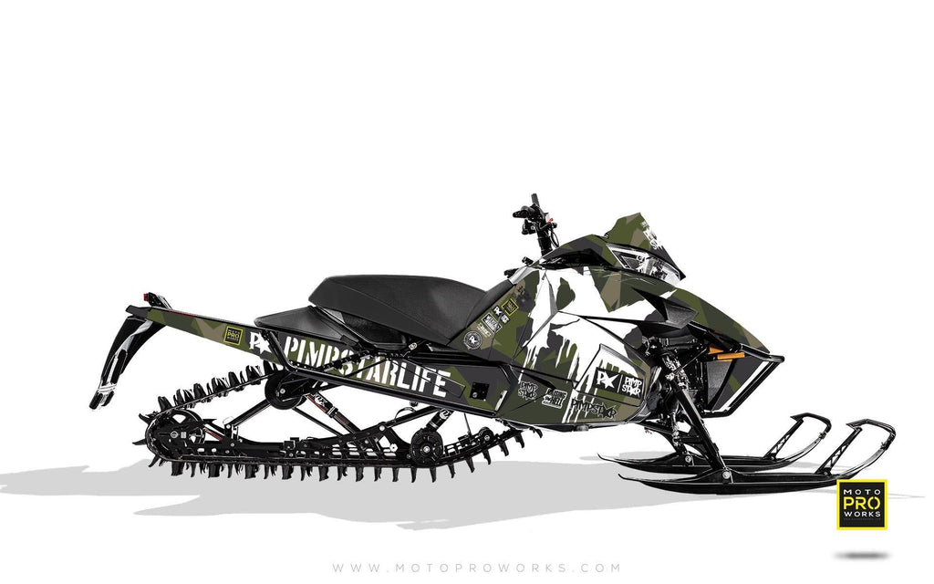 "Arctic Cat Graphics - ""M90"" (green)"