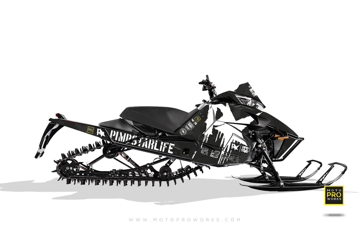 "Arctic Cat Graphics - ""M90"" (black) - MotoProWorks 