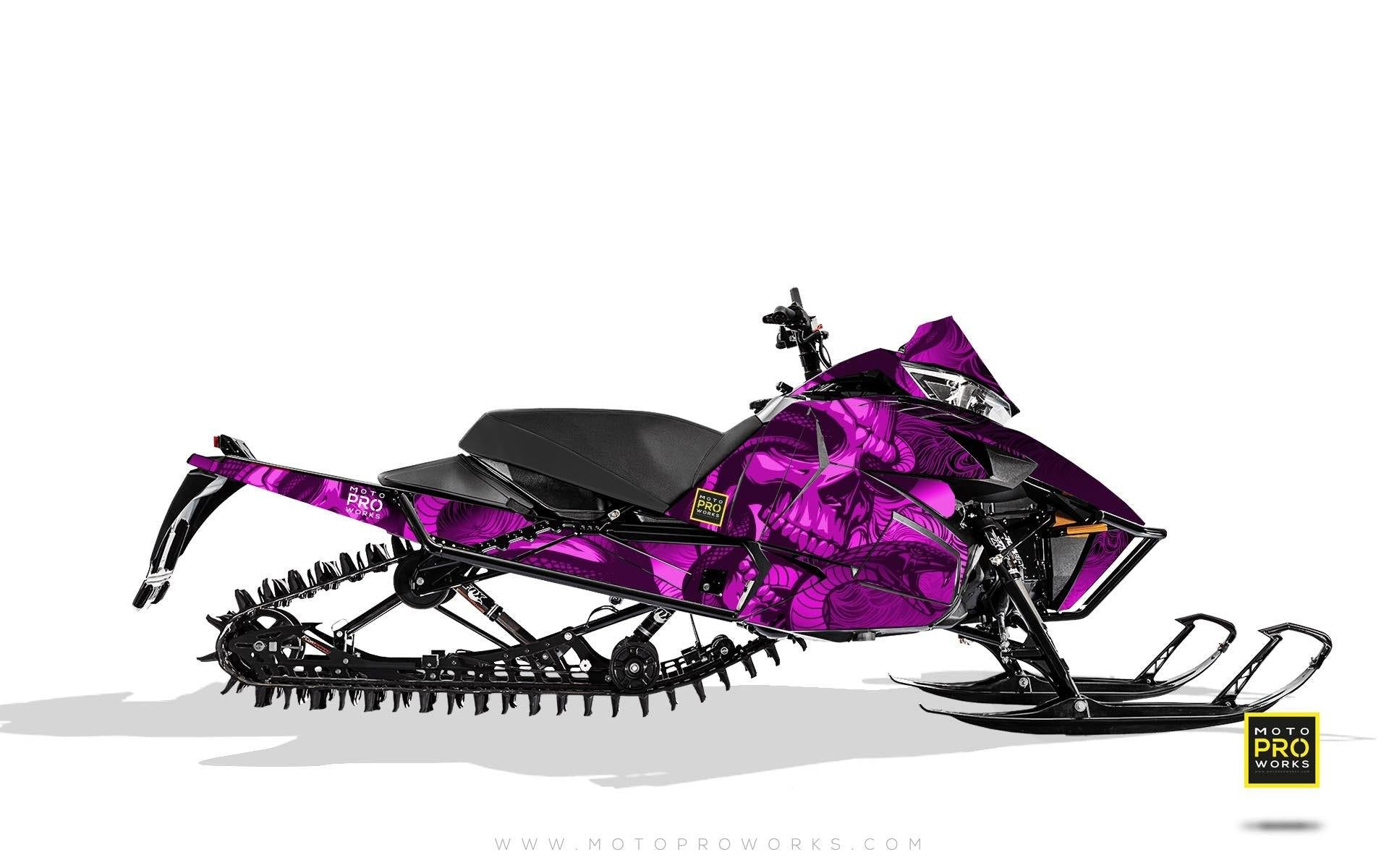 "Arctic Cat Graphics - ""Ssskully"" (pink) - MotoProWorks 