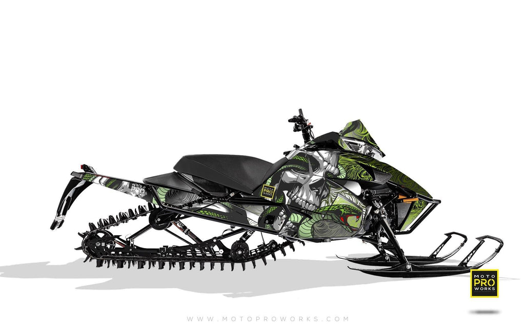 "Arctic Cat Graphics - ""Ssskully"" (venom) - MotoProWorks 