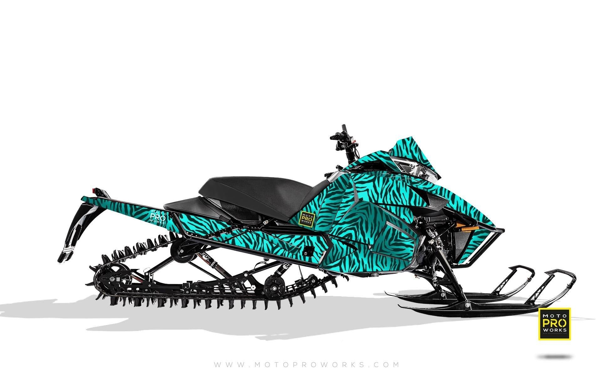 "Arctic Cat Graphics - ""Stripey"" (mintu) - MotoProWorks 