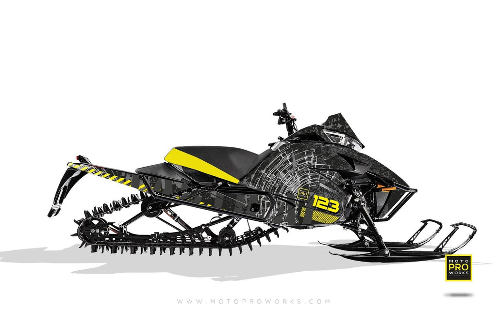"Arctic Cat Graphics - ""Tactical"" (black) - MotoProWorks 