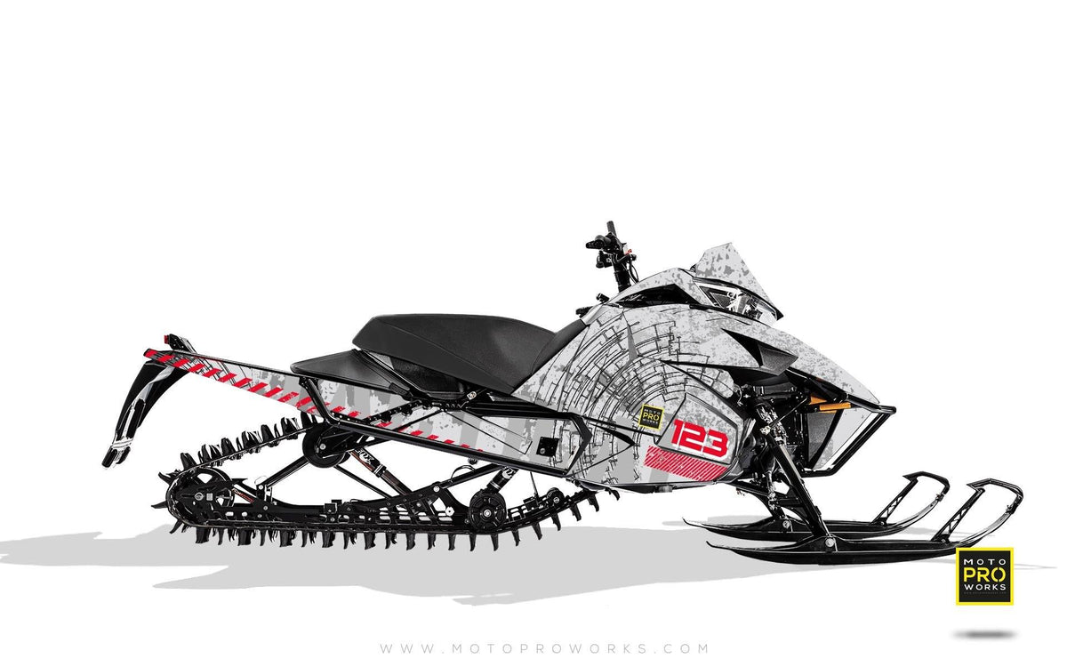 "Arctic Cat Graphics - ""Tactical"" (white) - MotoProWorks 