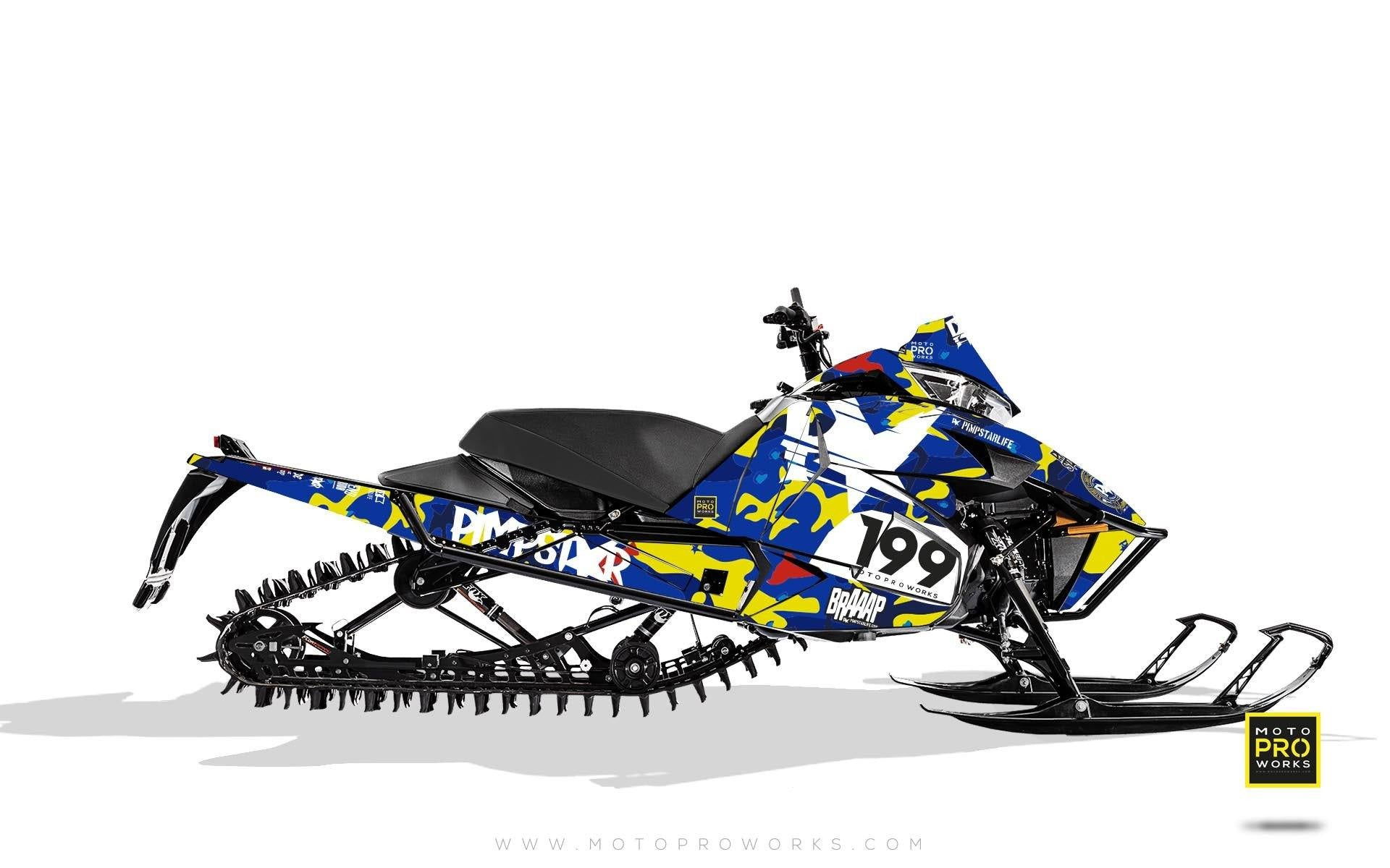 "Arctic Cat Graphics - ""Wildcamo"" (jimmy) - MotoProWorks 