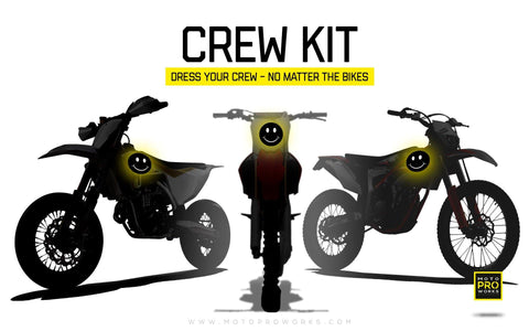 Crew kit - Custom Bike Graphics - MotoProWorks | Decals and Graphic kit