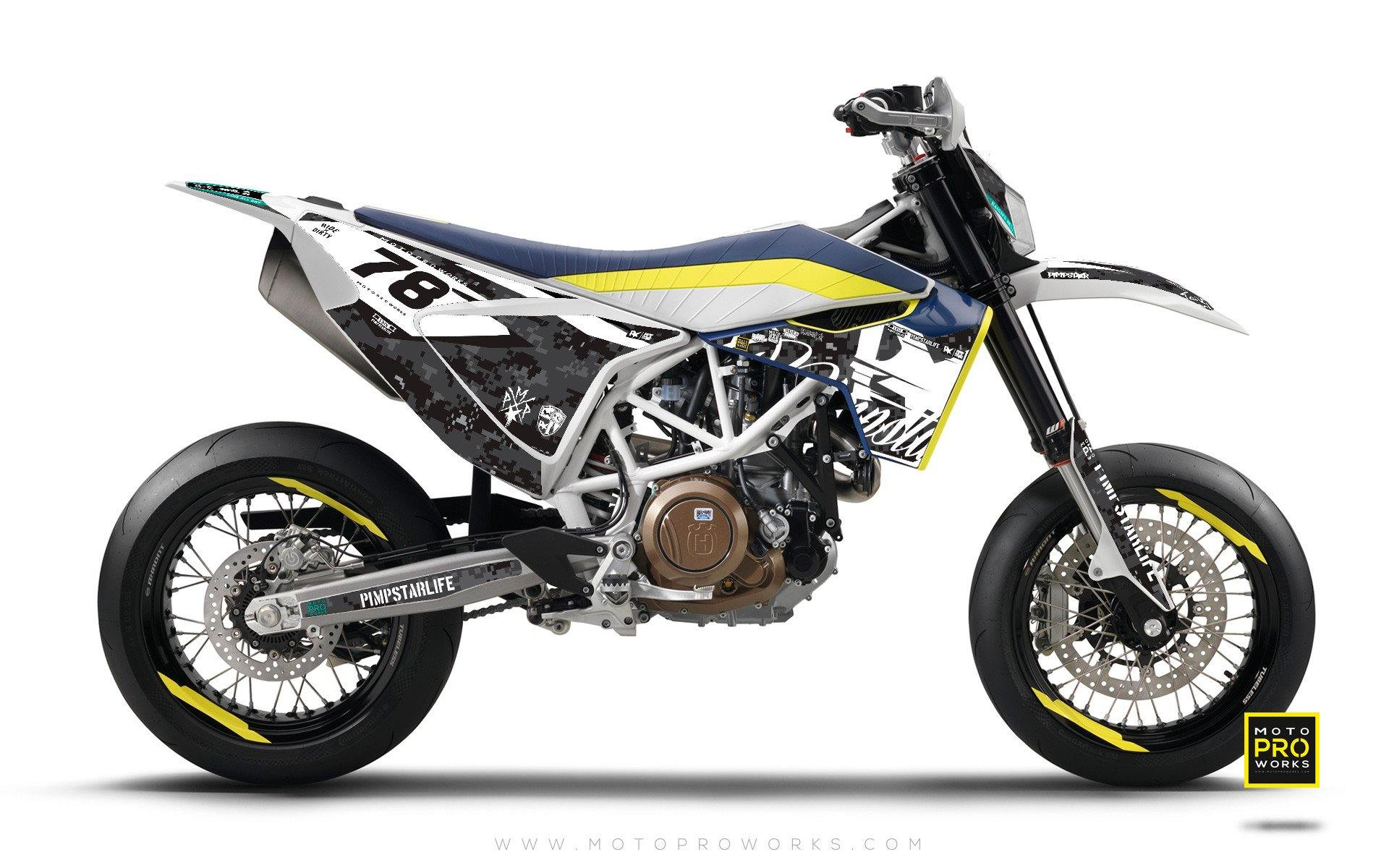 "Husqvarna 701 GRAPHIC KIT - ""MARPAT"" (urban) - MotoProWorks 