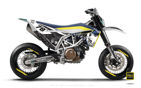 "Husqvarna 701 GRAPHIC KIT - ""MARPAT"" (urban)"