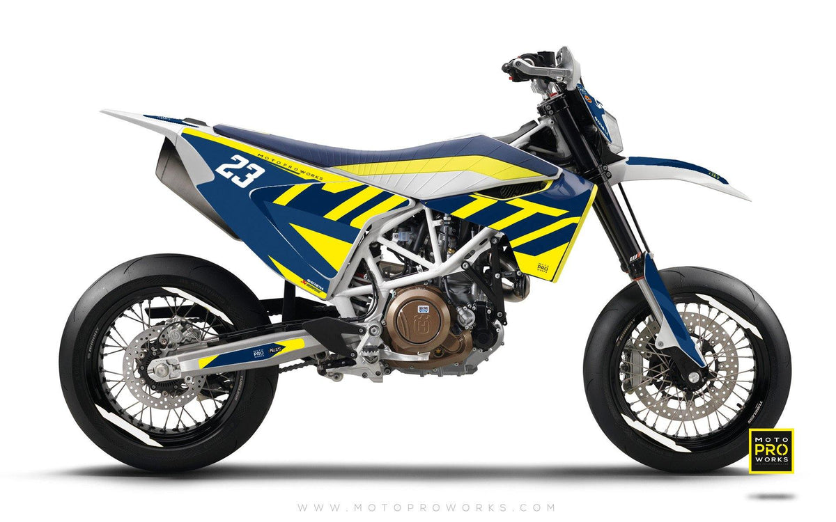 "Husqvarna GRAPHIC KIT - ""APEX"" (berg) - MotoProWorks 
