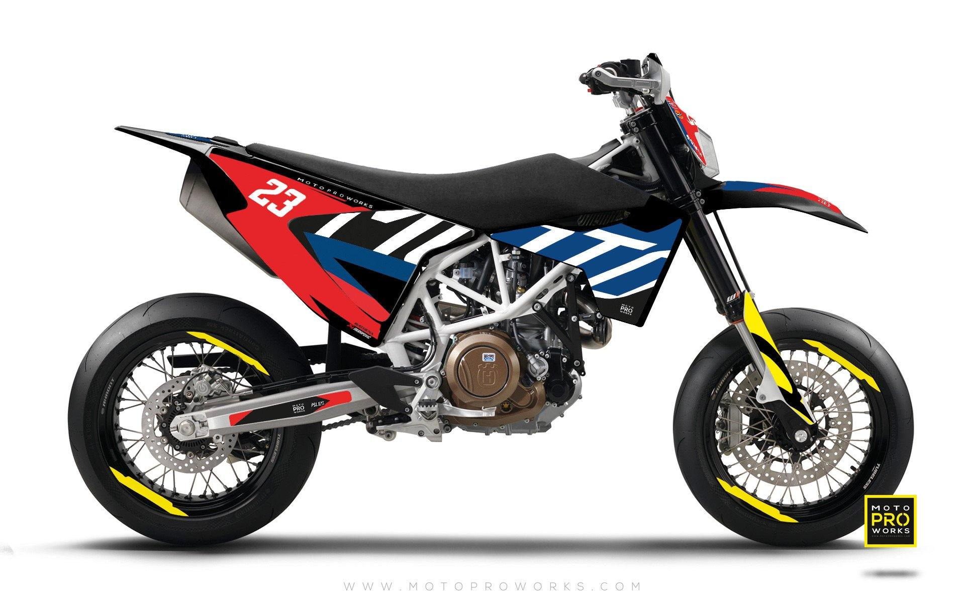 "Husqvarna GRAPHIC KIT - ""APEX"" (classic) - MotoProWorks 