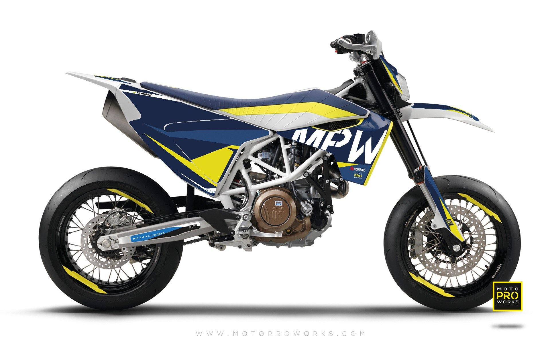 "Husqvarna GRAPHIC KIT - ""AVIX"" (berg) - MotoProWorks 