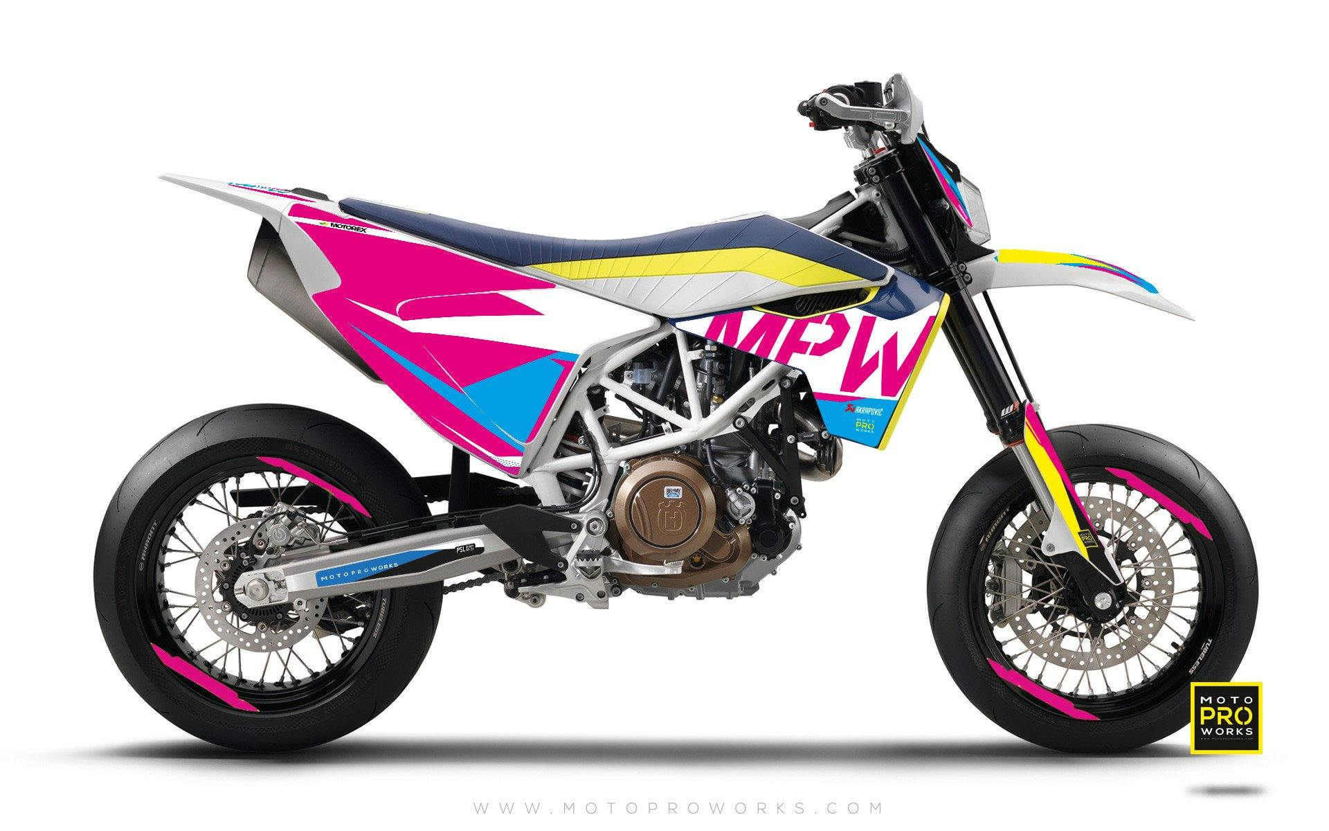 "Husqvarna GRAPHIC KIT - ""AVIX"" (cmyk) - MotoProWorks 