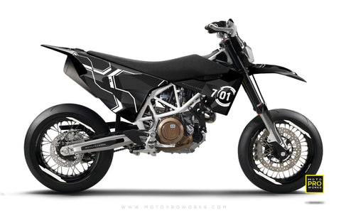 "Husqvarna GRAPHIC KIT - ""SCANNER"" - MotoProWorks 