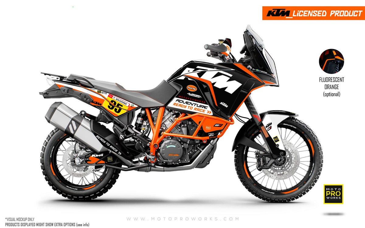 "KTM 1290 Adventure GRAPHIC KIT - ""Waypointer"" (Night)"