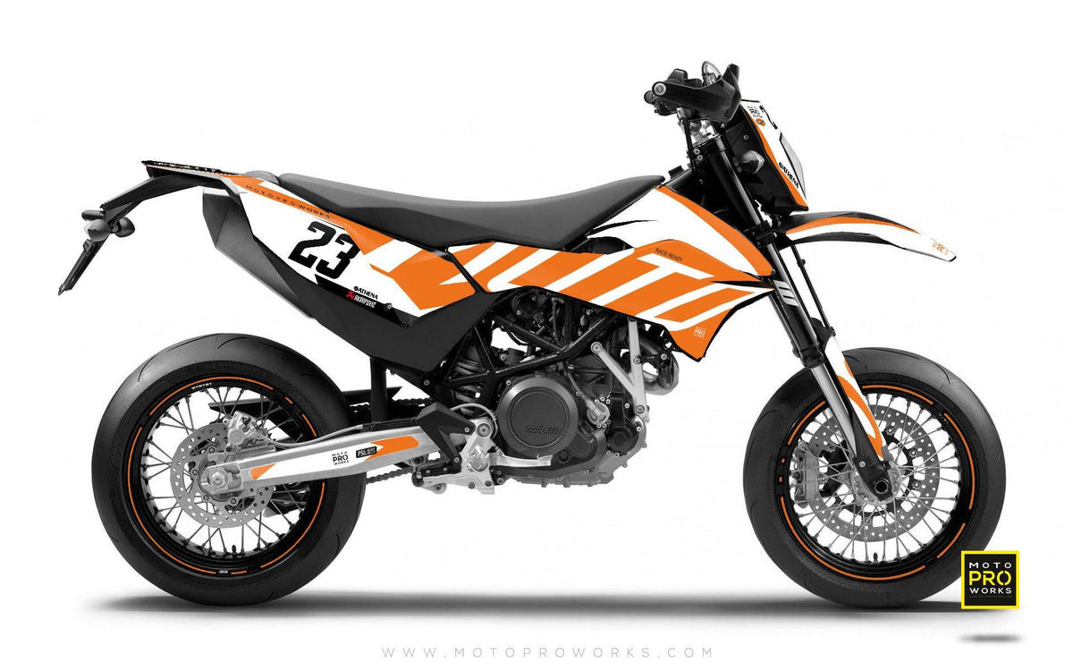 "KTM GRAPHIC KIT - ""APEX"" (light) - MotoProWorks 