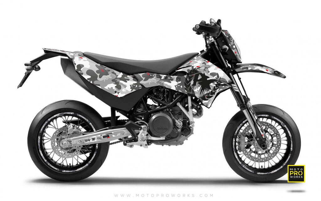 "KTM GRAPHIC KIT - Pimpstarlife ""CITYBLOCK"" - MotoProWorks 