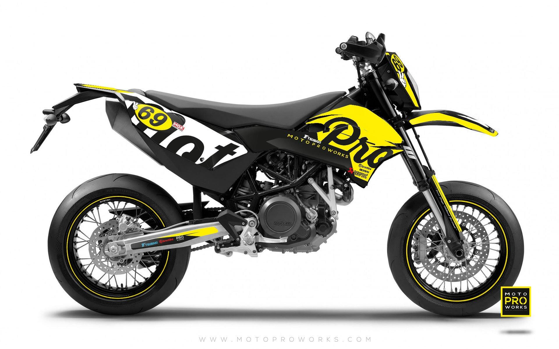"KTM GRAPHIC KIT - ""MIDNIGHT"" (dawn) - MotoProWorks 