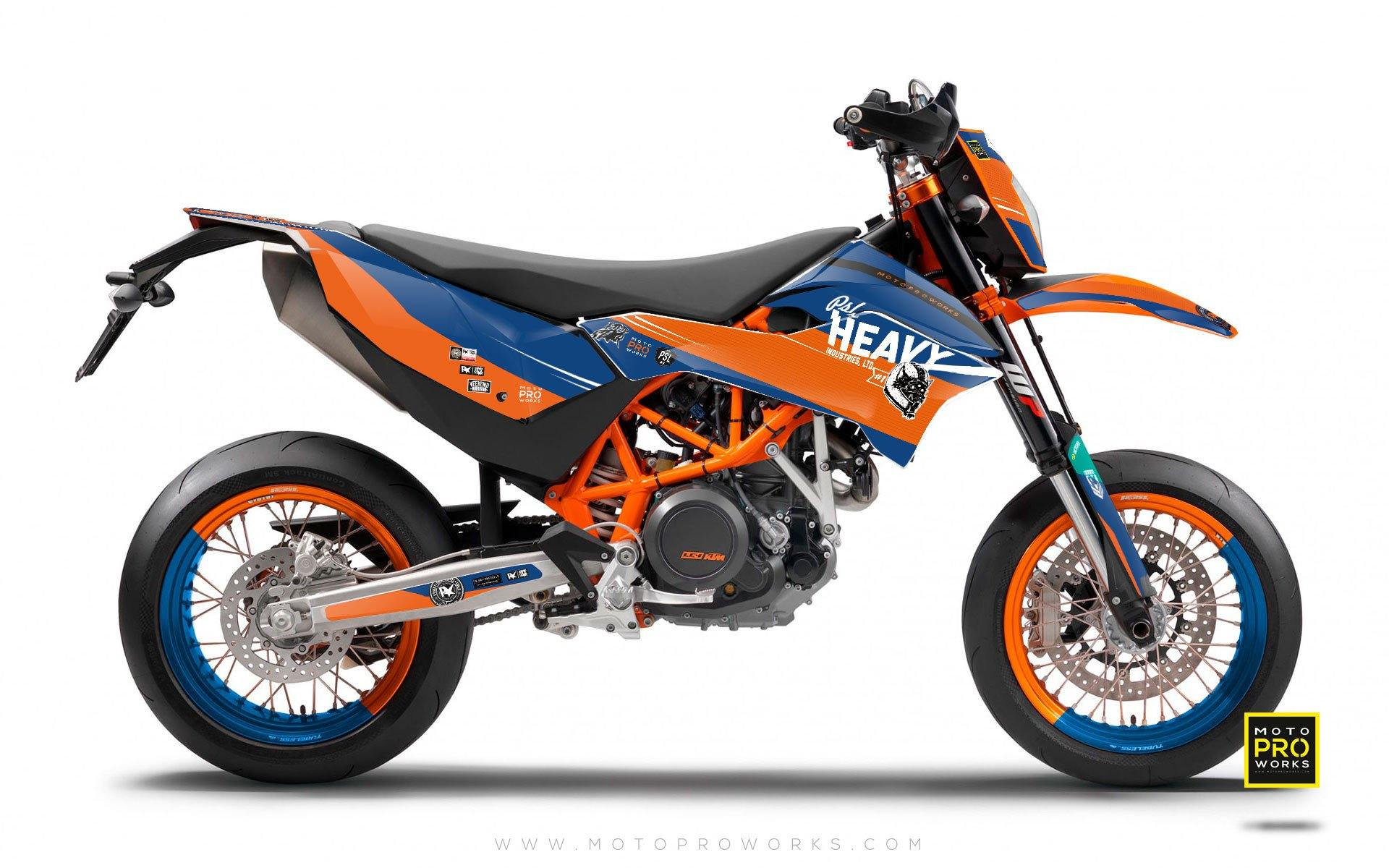 "KTM GRAPHIC KIT - ""RAZOR"" - MotoProWorks 