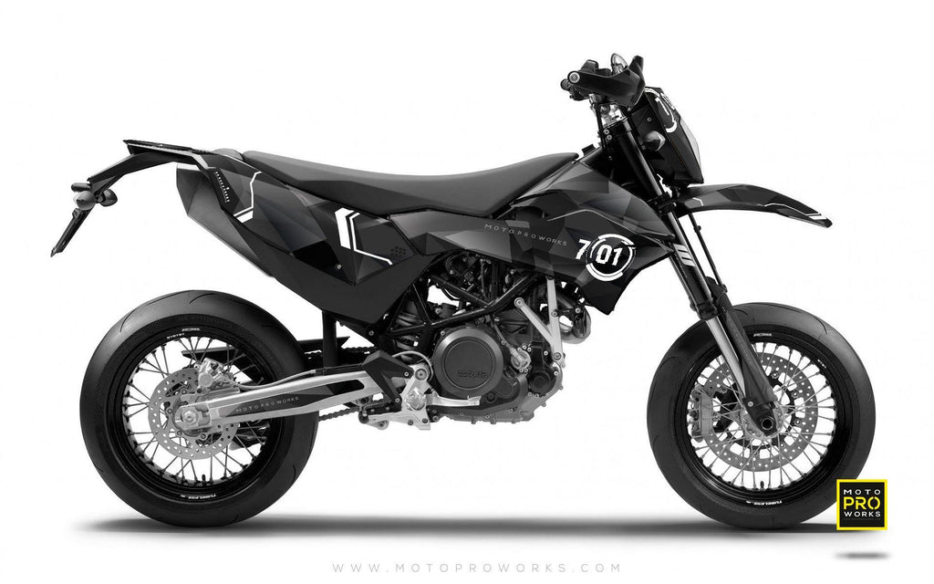 "KTM GRAPHIC KIT - ""SCANNER"" - MotoProWorks 