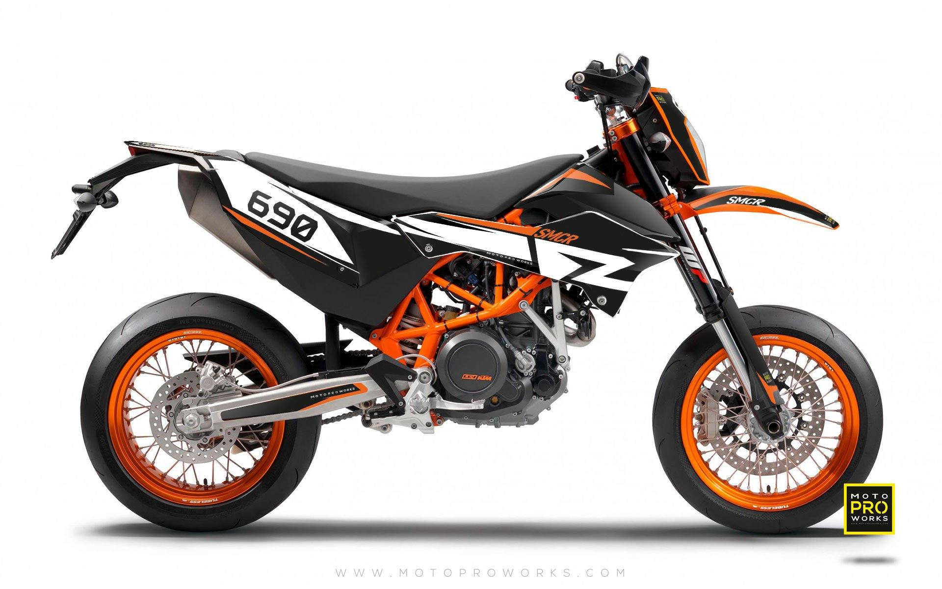 "KTM GRAPHIC KIT - ""STELLAR"" - MotoProWorks 