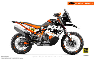 "KTM 790 Adventure R GRAPHIC KIT - ""Waypointer"" (Night)"