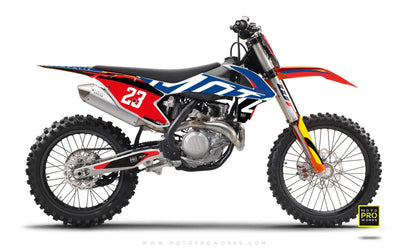 "KTM GRAPHIC KIT - ""APEX"" (classic) - MotoProWorks 