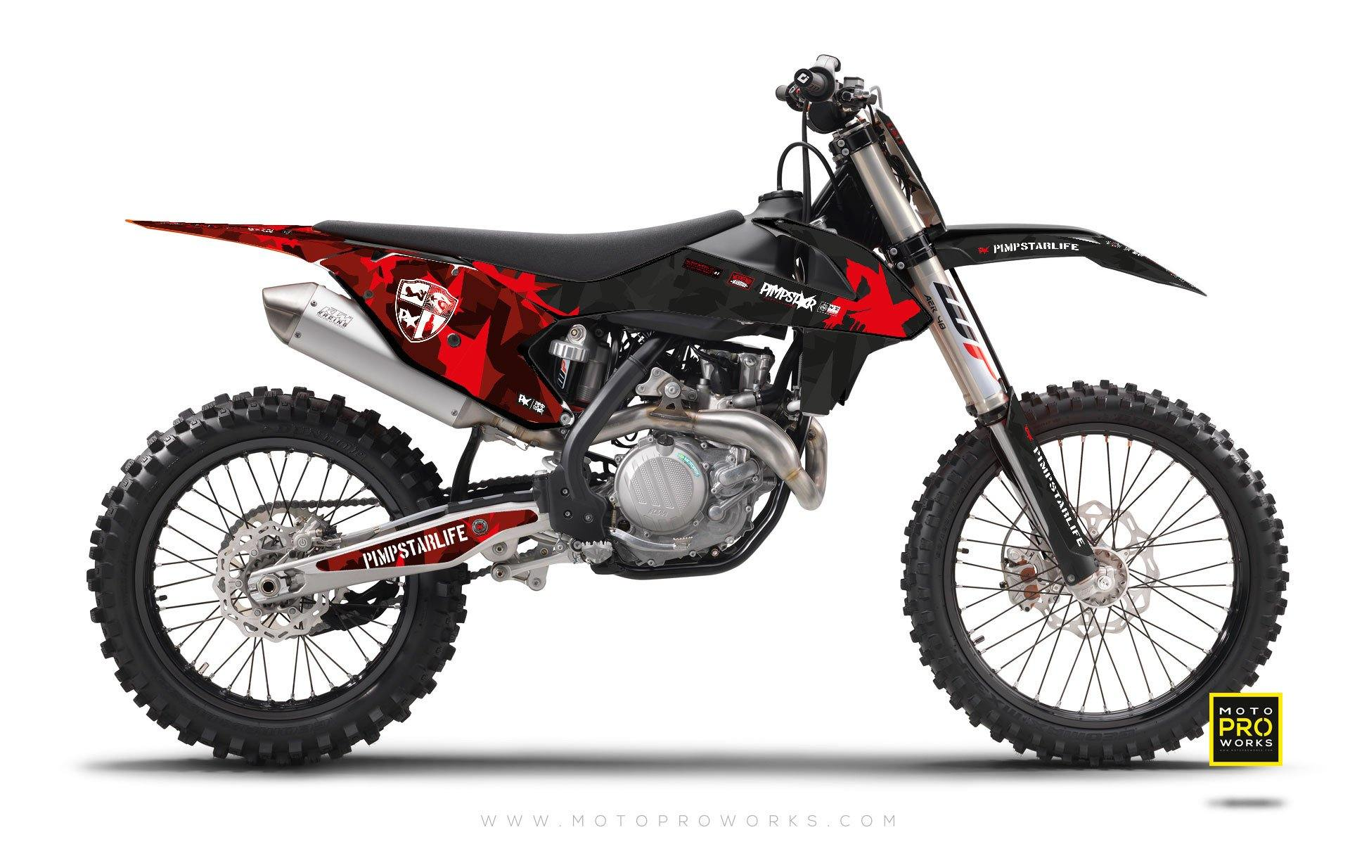 "KTM GRAPHIC KIT - ""SLOTA"" - MotoProWorks 